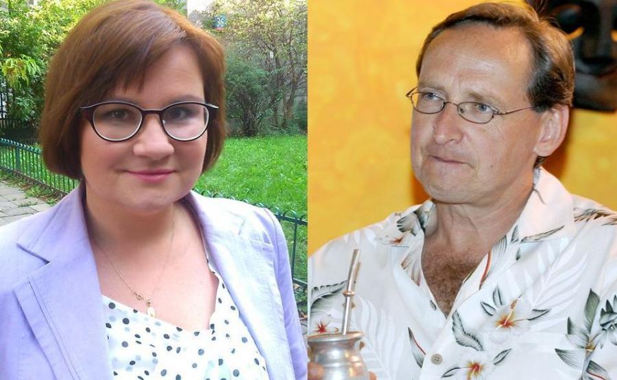 Małgorzata Terlikowska, Wojciech Cejrowski
