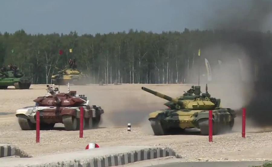 Mistrzostwa świata w biathlonie czołgów