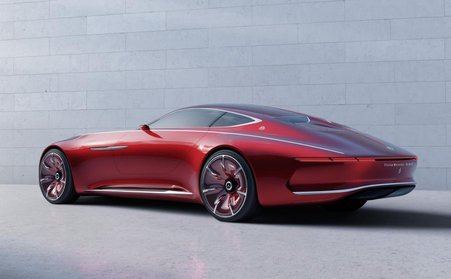 Mercedes-Maybach 6 Vision