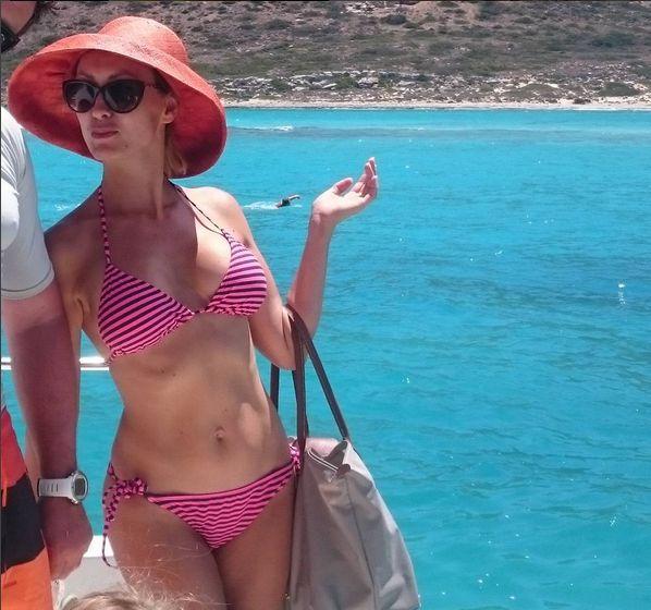 Anna Kalczyńska w bikini