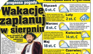 """Fakt"" podaje góralską prognozę pogody na cały rok"