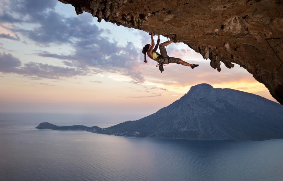 Wspinaczka na wyspie Kalymnos