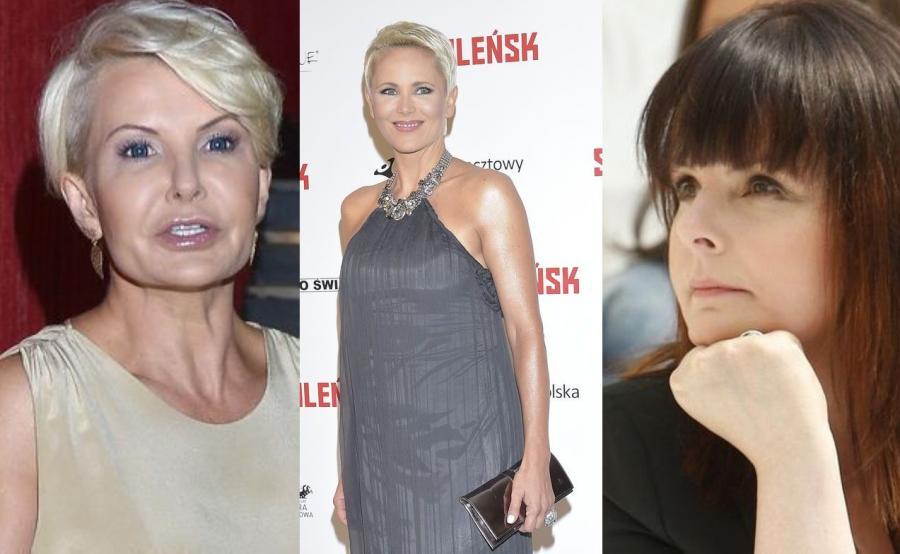 Joanna Racewicz, Anna Samusionek, Karolina Korwin Piotrowska