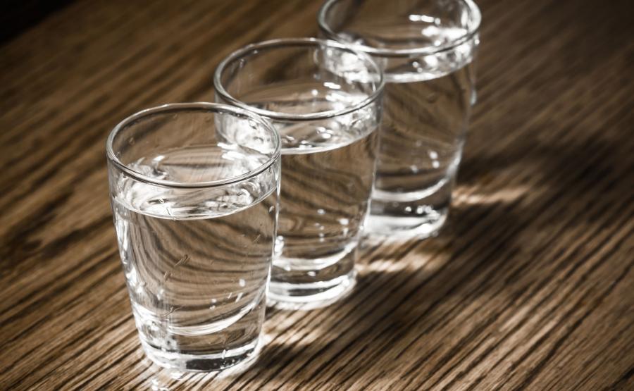 Kieliszki z wódką