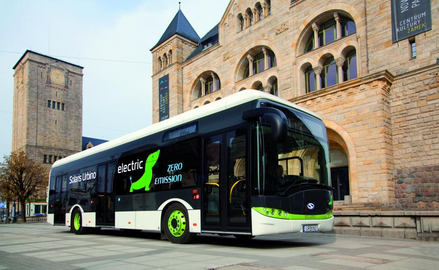 Solaris Urbino 12 electric - Bus of the Year 2017