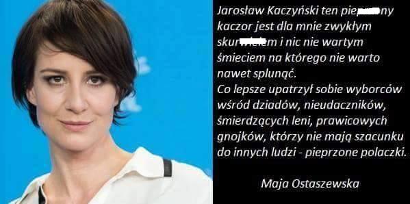 Fałszywy komentarz z profilu Polska Wolność
