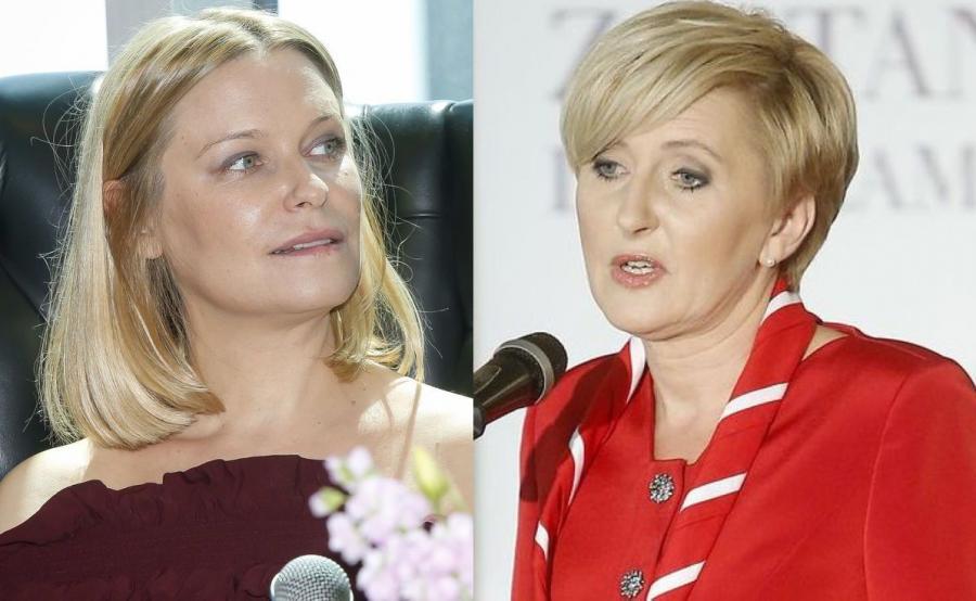 Paulina Młynarska, Agata Duda