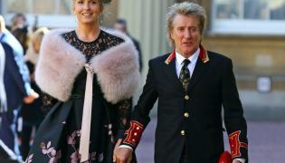 Penny Lancaster i Rod Stewart
