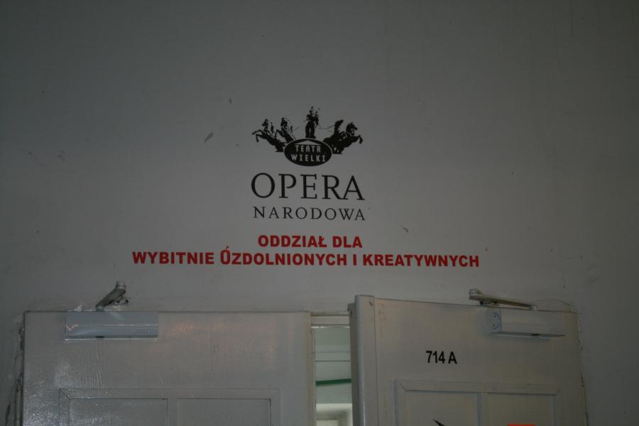 Na zapleczu Teatru Wielkiego