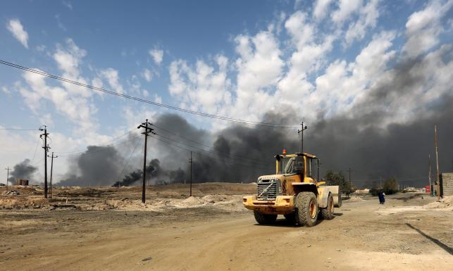 Ciężkie walki o Mosul. \