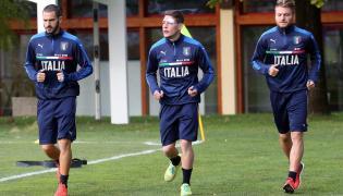 Leonardo Bonucci, Andrea Belotti i Ciro Immobile