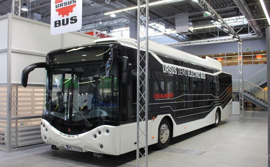 Ursus dostarczy 10 nowych elektrycznych autobusów miejskich dla Warszawy