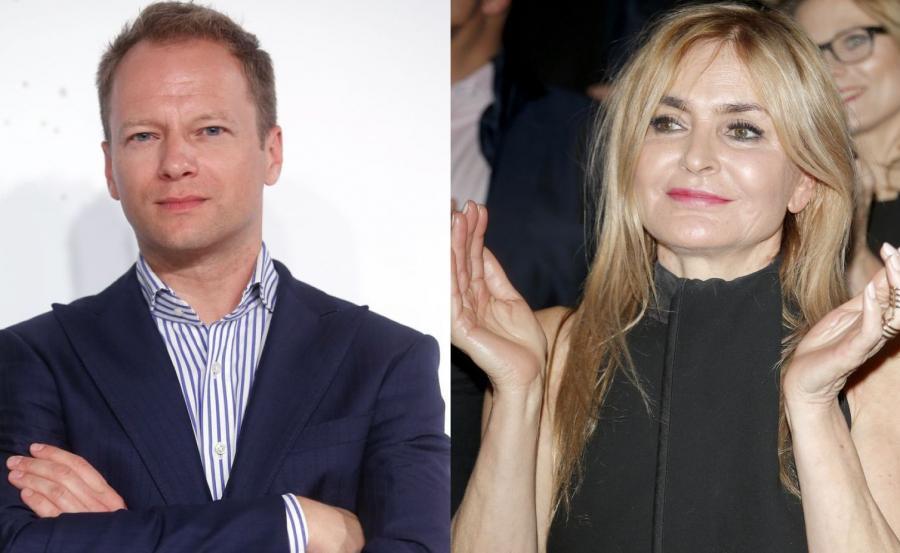 Maciej Stuhr, Monika Olejnik