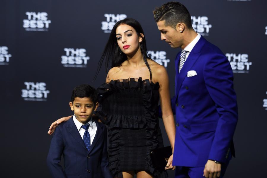 Cristiano Ronaldo, Georgina Rodriguez i syn piłkarza