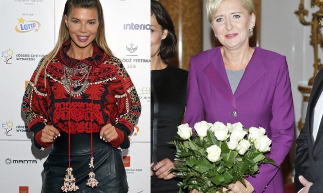 Czy widać, że Edyta Górniak i Agata Duda to równolatki?! FOTO