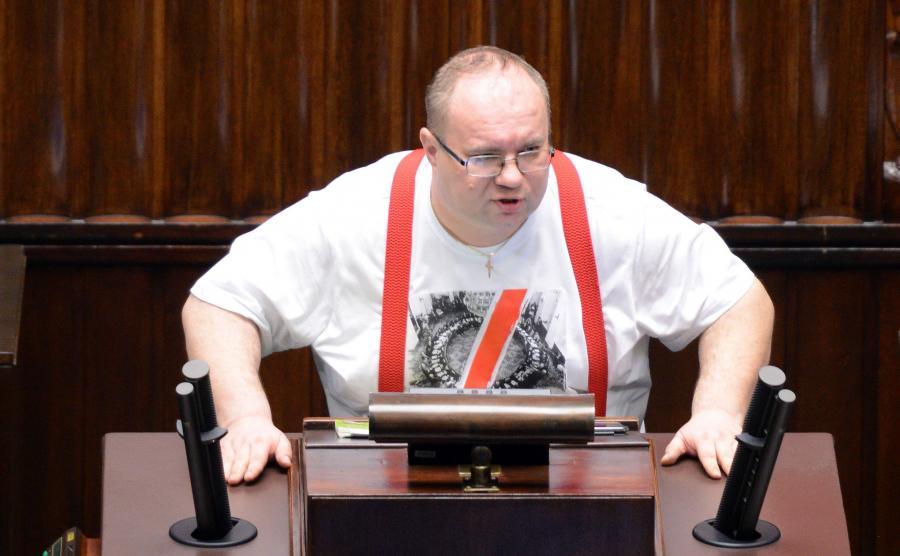 Poseł Kukiz\'15 Rafał Wójcikowski