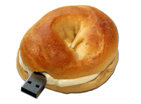 Baigiel z twarożkiem na USB?