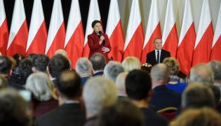 Premier Beata Szydło w Pułtusku