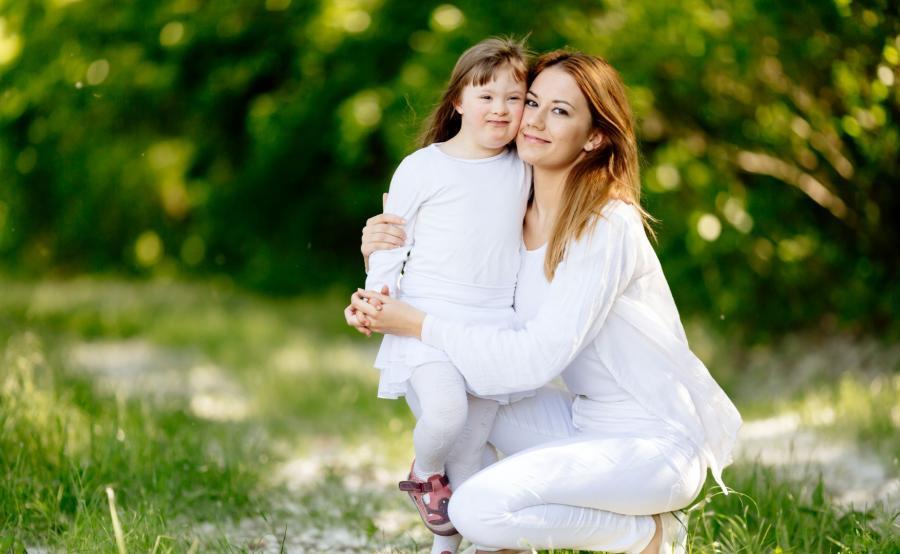 Matka z dzieckiem z Zespołem Downa